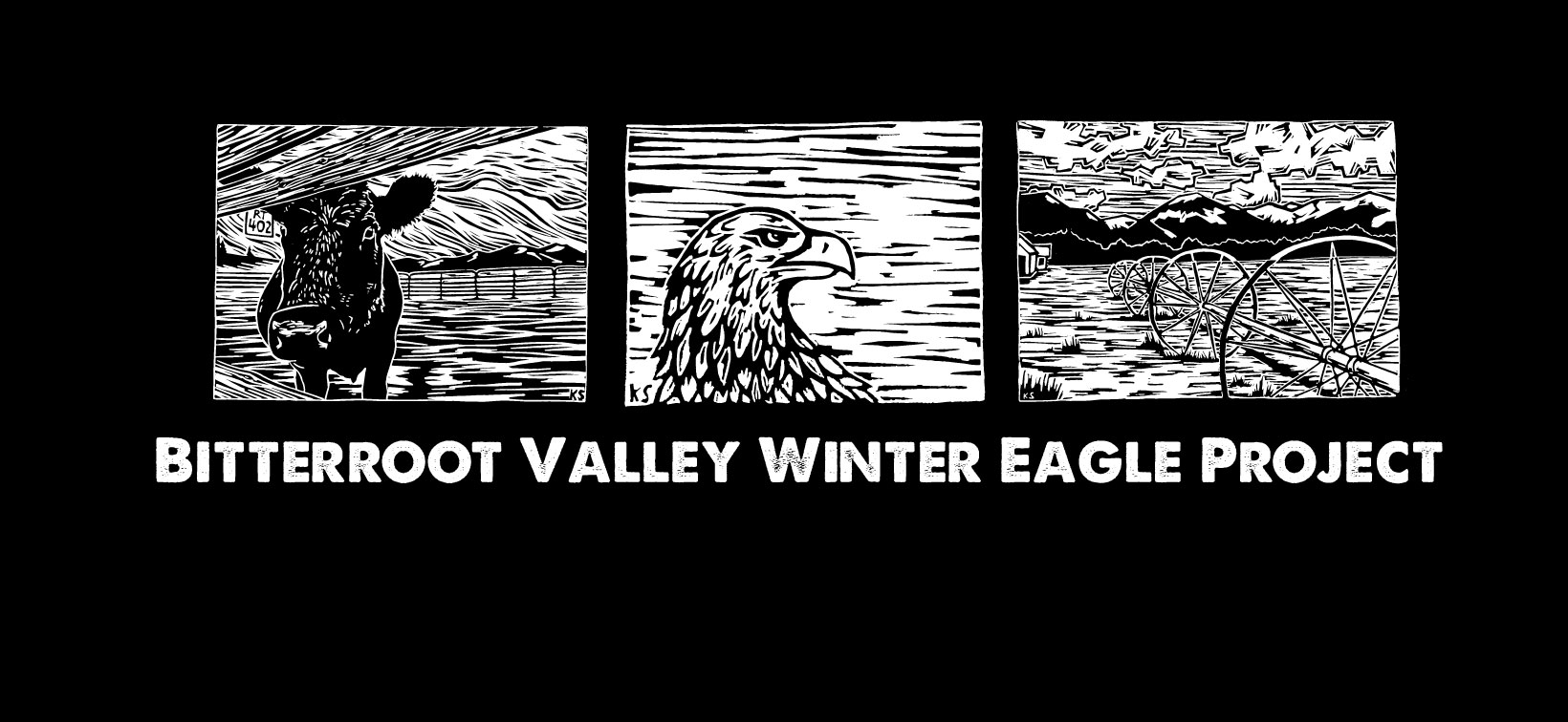 Bitterroot Valley Winter Eagle Shirt